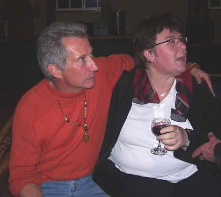 Henning Pieterse en Joan Hambidge